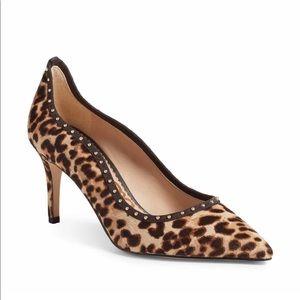 Sam Edelman Leopard print tiana heals size 6 NEW